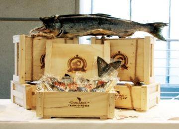鮭の山漬けの画像